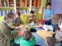 Встреча  Студенческого отряда с воспитанниками приюта